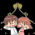 Momo & Taro: Ramadan Special Sticker for LINE & WhatsApp | ZIP: GIF & PNG