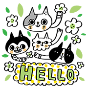 Morita Chen & Unfamiliar Friends Sticker for LINE & WhatsApp | ZIP: GIF & PNG