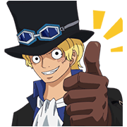 Moving ONE PIECE Commemorative Stickers Sticker for LINE & WhatsApp | ZIP: GIF & PNG
