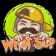 Mr.Nuadkhem 4: Inter Style Sticker for LINE & WhatsApp | ZIP: GIF & PNG