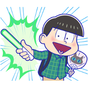 Mr.Osomatsu 7: Animated! Sticker for LINE & WhatsApp | ZIP: GIF & PNG