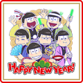 Mr. Osomatsu's New Year's Gift Stickers