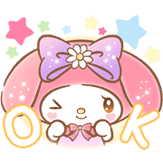 My Melody: Absolutely Adorable Sticker for LINE & WhatsApp | ZIP: GIF & PNG