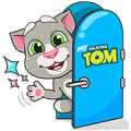 "My Talking Tom ""Like you Lots"" Sticker for LINE & WhatsApp 