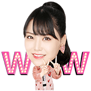 NMB48 Song Stickers Sticker for LINE & WhatsApp | ZIP: GIF & PNG