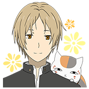 Natsume's Book of Friends All-Stars Sticker for LINE & WhatsApp | ZIP: GIF & PNG