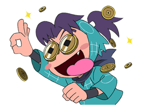 Nintama Rantarō Sticker for LINE & WhatsApp | ZIP: GIF & PNG