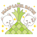 Njun & Njel: Special Maap Lahil Batin Sticker for LINE & WhatsApp | ZIP: GIF & PNG