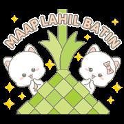 Njun & Njel: Special Maap Lahil Batin Sticker for LINE & WhatsApp   ZIP: GIF & PNG