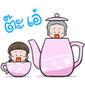 NomYen & HuaKrien's Mini Story Sticker for LINE & WhatsApp | ZIP: GIF & PNG