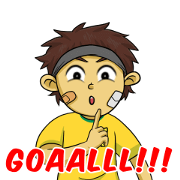 Ole Ole Bola Sticker for LINE & WhatsApp | ZIP: GIF & PNG