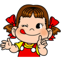Peko-chan Sticker for LINE & WhatsApp | ZIP: GIF & PNG