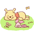 Pooh and Piglet (Lovely)