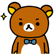 Rilakkuma~Easy Days~ Sticker for LINE & WhatsApp | ZIP: GIF & PNG