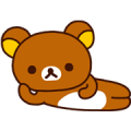 Rilakkuma Sticker for LINE & WhatsApp | ZIP: GIF & PNG