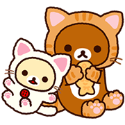Rilakkuma Animated Stickers Sticker for LINE & WhatsApp | ZIP: GIF & PNG