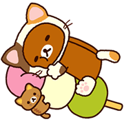 Rilakkuma: Cozy Winter Days Sticker for LINE & WhatsApp | ZIP: GIF & PNG