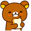 Rilakkuma: Freshly Baked Fun Sticker for LINE & WhatsApp | ZIP: GIF & PNG
