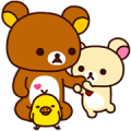 Rilakkuma: Good Friends Sticker for LINE & WhatsApp | ZIP: GIF & PNG