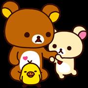 Rilakkuma: Good Friends Sticker for LINE & WhatsApp | ZIP: GIF & PNG