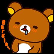 Rilakkuma Pop-Up Stickers Sticker for LINE & WhatsApp | ZIP: GIF & PNG