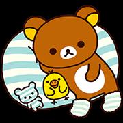 Rilakkuma: Relaxing Days Sticker for LINE & WhatsApp | ZIP: GIF & PNG