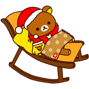 Rilakkuma Xmas & Holiday Sticker for LINE & WhatsApp   ZIP: GIF & PNG