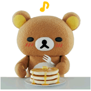 Rilakkuma the Movie Sticker for LINE & WhatsApp | ZIP: GIF & PNG