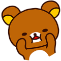 Rilakkuma's Lazy Life Sticker for LINE & WhatsApp | ZIP: GIF & PNG