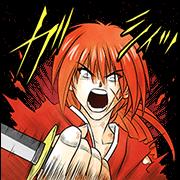 Rurouni Kenshin Sticker for LINE & WhatsApp   ZIP: GIF & PNG