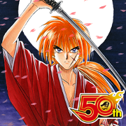 Rurouni Kenshin J50th Sticker for LINE & WhatsApp | ZIP: GIF & PNG