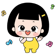 SUNNY IS ALWAYS HAPPY Sticker for LINE & WhatsApp | ZIP: GIF & PNG
