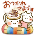 Sweet Healing Winter Stickers Sticker for LINE & WhatsApp | ZIP: GIF & PNG