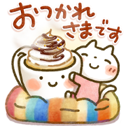Sweet Healing Winter Stickers Sticker for LINE & WhatsApp | ZIP: GIF & PNG