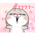 Very Miss Rabbit Acting Sticker for LINE & WhatsApp | ZIP: GIF & PNG