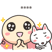 Wan Wan Says Everything Custom Stickers Sticker for LINE & WhatsApp | ZIP: GIF & PNG