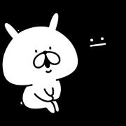 graniph×Yuru Usagi Sticker for LINE & WhatsApp | ZIP: GIF & PNG