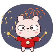 Best Wishes by Lengtoo Baby NY Stickers Sticker for LINE & WhatsApp | ZIP: GIF & PNG