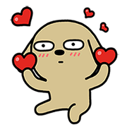 Hello Brown's Jumping Daily Life Sticker for LINE & WhatsApp | ZIP: GIF & PNG