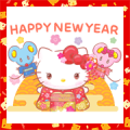 Hello Kitty's New Year's Gift Stickers (2020)