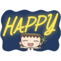 I'm Mark: Xmas Stickers Sticker for LINE & WhatsApp | ZIP: GIF & PNG