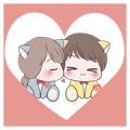 I'm Yours: Pop-Ups Sticker for LINE & WhatsApp | ZIP: GIF & PNG