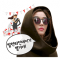 Jeon Ji-Hyun Special Sticker for LINE & WhatsApp | ZIP: GIF & PNG