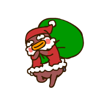 MarioGG 3 Xmas Stickers Sticker for LINE & WhatsApp | ZIP: GIF & PNG