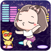 Megyo and Megab Pop-Ups Sticker for LINE & WhatsApp | ZIP: GIF & PNG