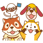 Rascal and Friends Sticker for LINE & WhatsApp | ZIP: GIF & PNG