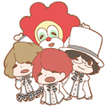 SEKAI NO OWARI designed by Koinu Sticker for LINE & WhatsApp | ZIP: GIF & PNG
