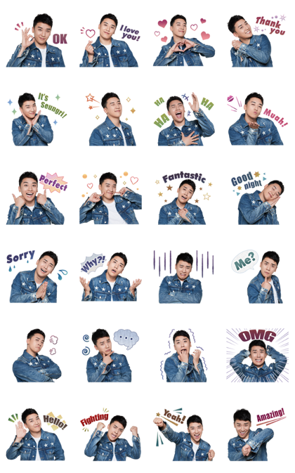 SEUNGRI of BIGBANG Voice Stickers Line Sticker GIF & PNG Pack: Animated & Transparent No Background | WhatsApp Sticker