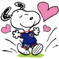 SNOOPY ☆ SAMURAI BLUE!