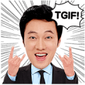 SO JI SUB Special Edition Sticker for LINE & WhatsApp | ZIP: GIF & PNG